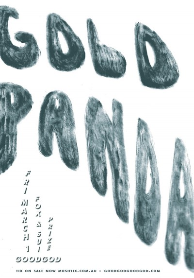 Gold Panda Goodgod
