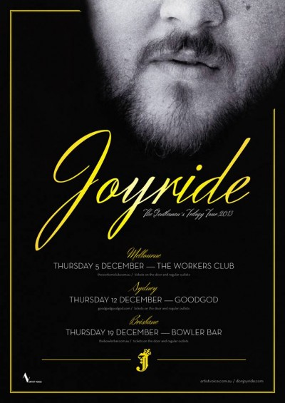 joyride flyer