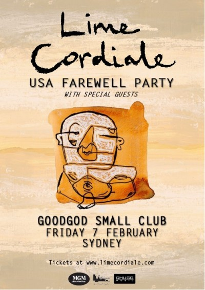 14-02-07 Lime Cordiale USAFarewellParty_WebPoster