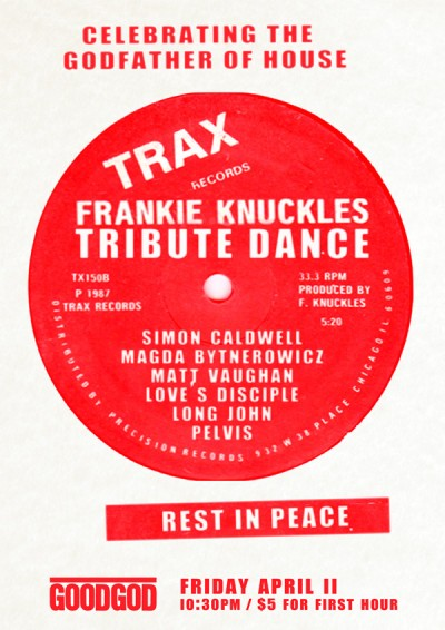 Frankie Knuckles Tribute
