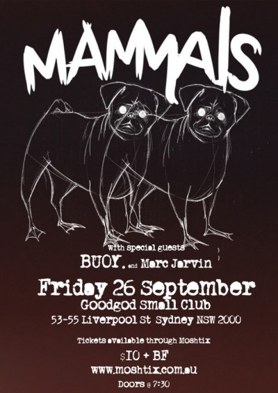 14-09-26 Mammals GoodGod 26 Sept