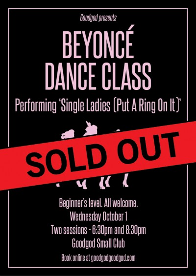 yonce-1 Oct - Sold Out