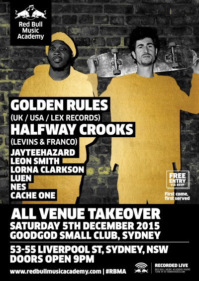 RBMA012a December_Golden Rules Web flyer_NSW